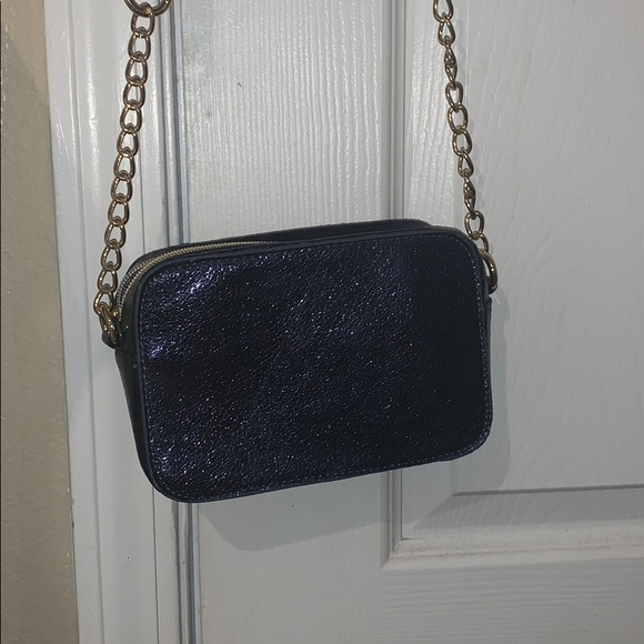 Charming Charlie Handbags - Charming Charlie's blue sparkly bag